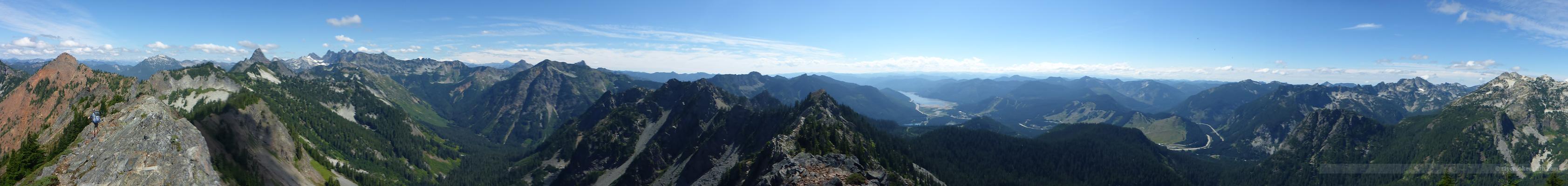 Kendall Peak Pano