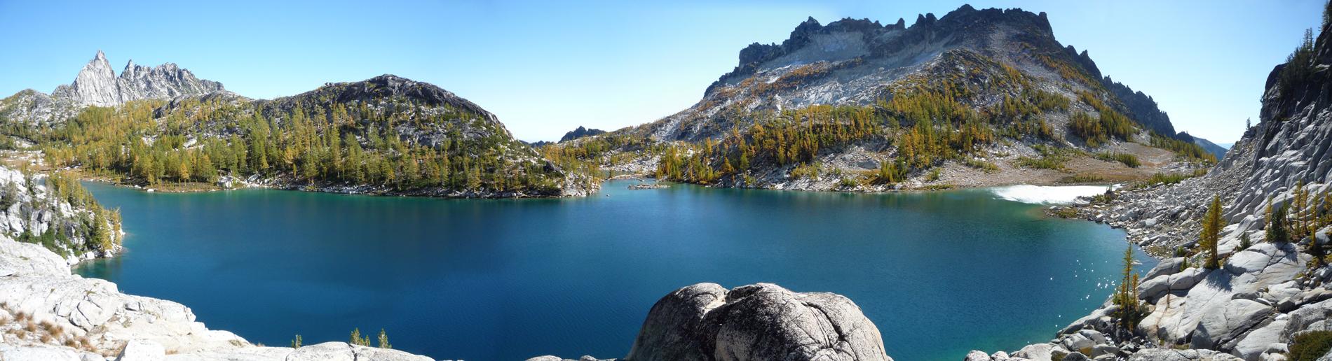 Pano of Perfection Lake